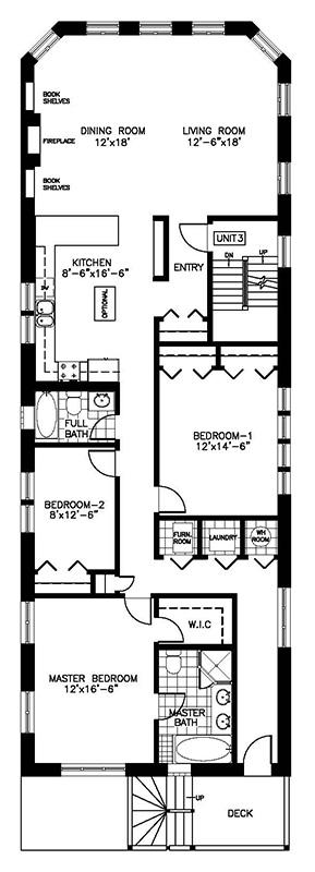 Floor Plans Residence On The Avenue 3 Bedroom Tree Top Condo Chicago Condo Vacation Rentals
